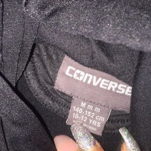Converse Shirts & Tops - Black converse hoodie
